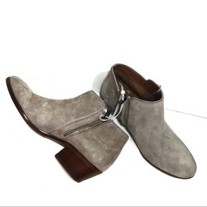 Sam Edelman gray suede ankle boots size 6